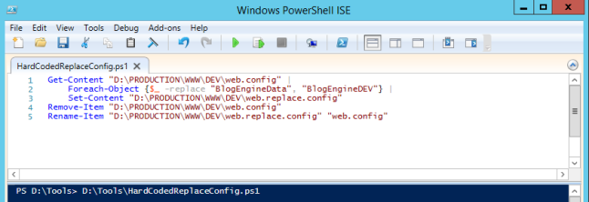 PowerShellScript-HardCoded