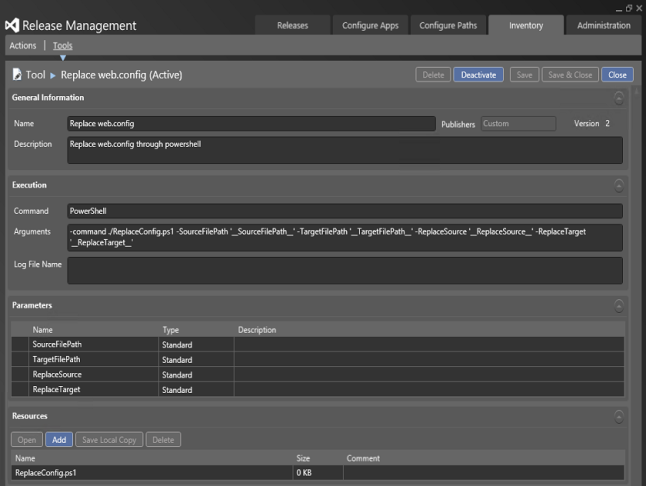 ReleaseManagement-NewTool