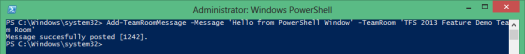 P2_PowerShell_Add_TeamRoomMessage