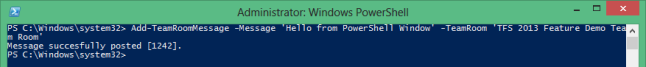 P2_PowerShell_Add_TeamRoomMessage