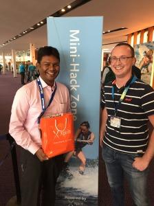 Rajkumar wins a Philips HUE