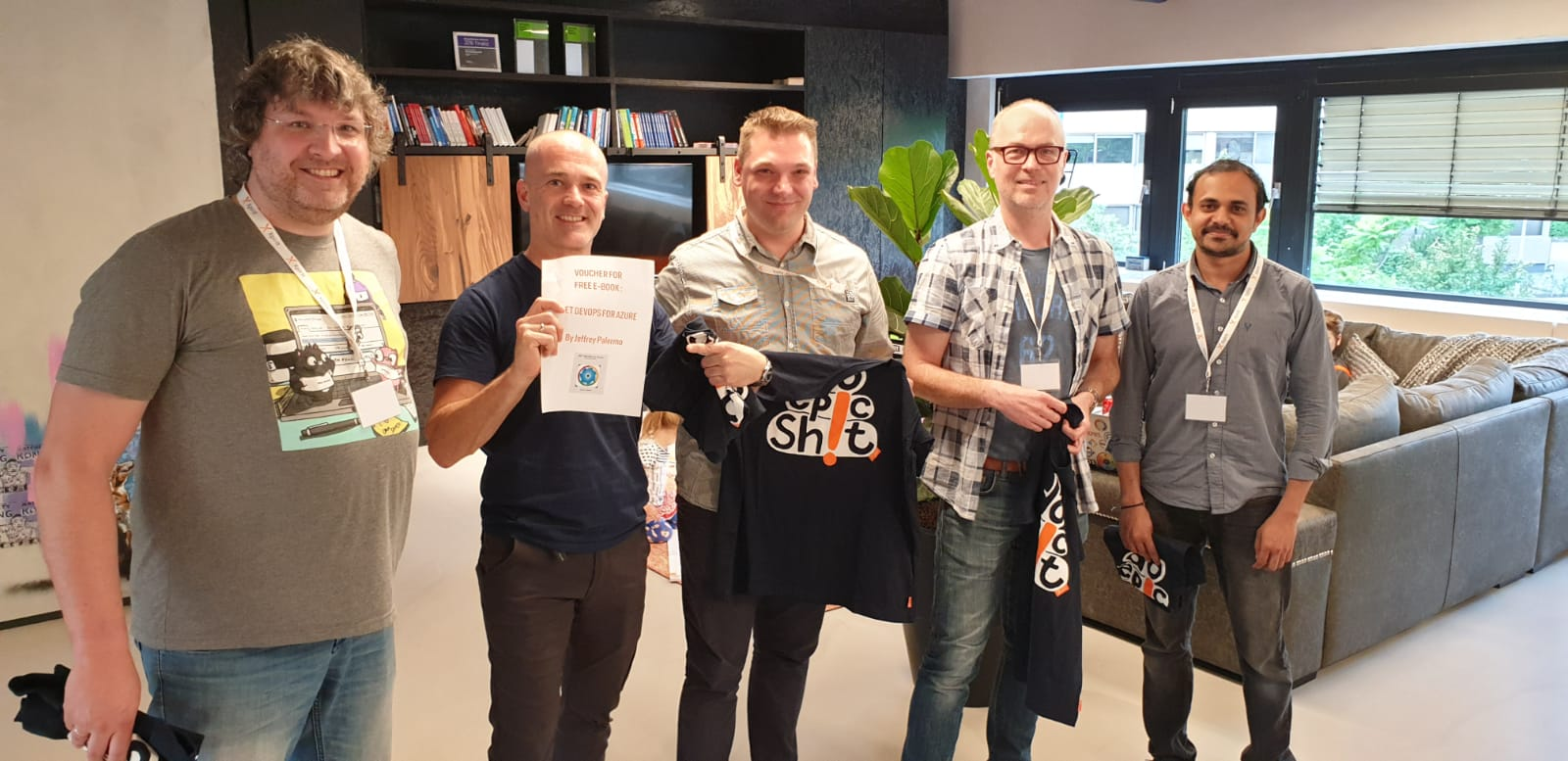 GDBC 2019 Xpirit Hilversum Winning Team